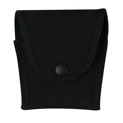 Blackhawk 44A151BK Flat Black Covered Compact Handcuff Pouch/Case