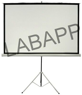 Projection Screen (With Metallic Stand) Labapp-111