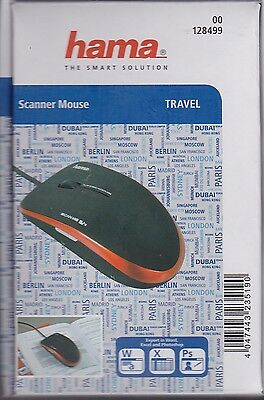 hama Scanner Mouse Travel NEW