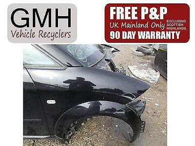 Audi A2 Right Driver Offside Front Wing  Black Paint Code Ly9B  2000-2005 §