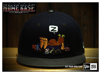 Limited Edition New Era 59FIFTY Fitted Garfield Snooze Leather Brim