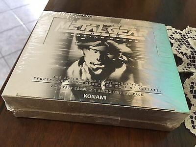 Metal Gear Solid Trading Cards New - Sealed - Rare