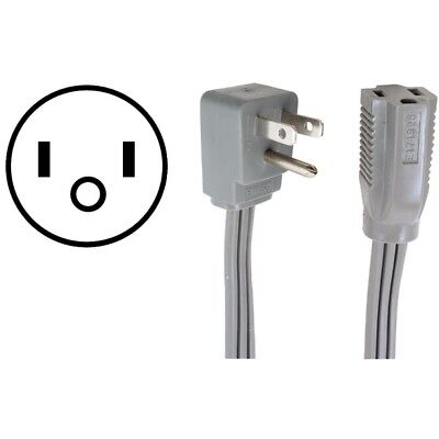 CERTIFIED APPLIANCE 15-0303 Appliance Extension Cord, 15 Amps (3ft)