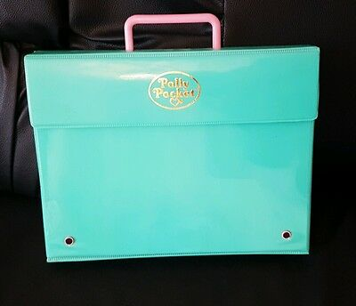 Vintage Polly Pocket  Writing Case Playset Figures 1990 excellent condition