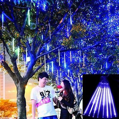 240 LED Meteor Shower Falling Star/Icicle Snow Fall LED Xmas Tree String Light H
