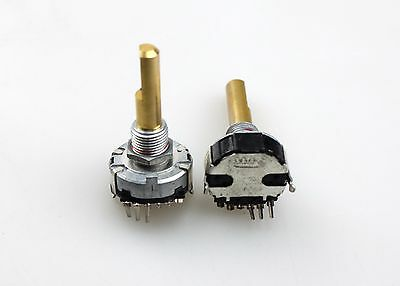 ALPS EC20A EC20A1820401 Rotary Encoder 18 Pulses 30mm D Metal Shaft