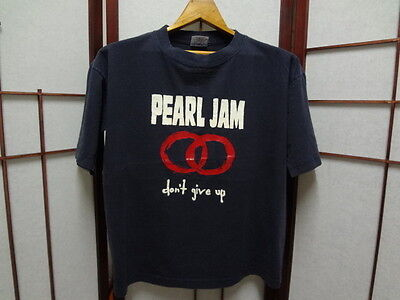 Pearl Jam used t shirt vtg rock grunge alternative band tour concert rare size M
