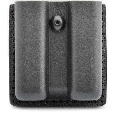 Safariland 79-383-2 Black Opentop Slimline Double Mag Pouch Fits Glock 20 21