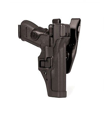 Blackhawk 44H114BK-R Right Hand Black Level 3 SERPA Auto Lock Duty Holster 9/40