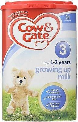 Cow and Gate 900g 1 to 2 Years Growing Up Milk Powder - stage 3