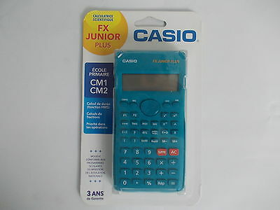 calculatrice casio fx junio plus