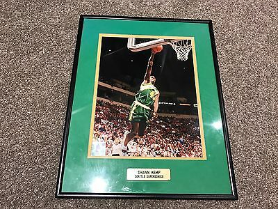 Shawn Kemp Seattle Supersonics Official Licenced NBA Product