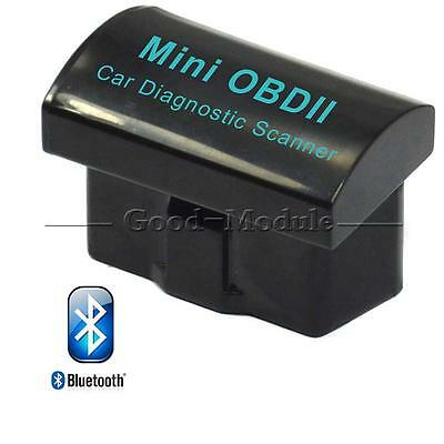 V2.1 Mini ELM327 OBD2 II Bluetooth Diagnostic Car Auto Interface Scanner Top
