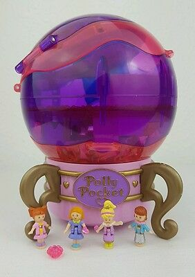 Polly Pocket Jewel Magic Ball 1996 RARE Figures Gems excellent condition