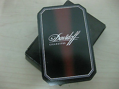 New Davidoff Cigarettes Playing Cards