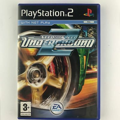 Need For Speed Underground 2 Ps2 -  Great condition with the BOOK