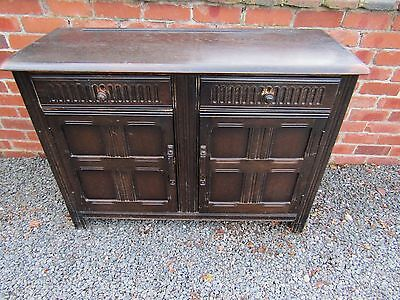 Antique Sideboard Cupboard with Drawers