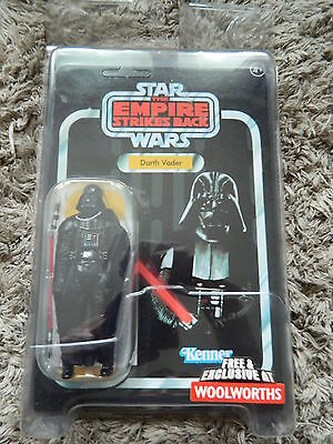 Star Wars VOTC 2004 Woolworths Exclusive Vintage Darth Vader Figure