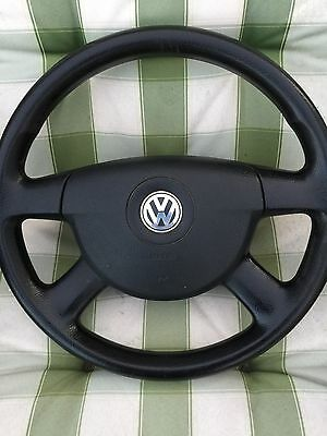 Genuine VW T5 Steering Wheel With Brand New Airbag