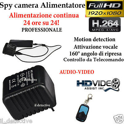 Spy Camera Spia  HD MOTION DETECTION TELECAMERA MICRO NASCOSTA MICROCAMERA