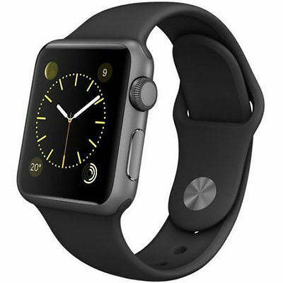 Apple Watch Sport 38mm Space Grau Refurbished vom Hersteller 4J2X2Z/A TOP