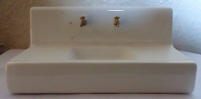 Dolls House Miniature 1:12 Scale Kitchen White Butlers Porcelain Sink