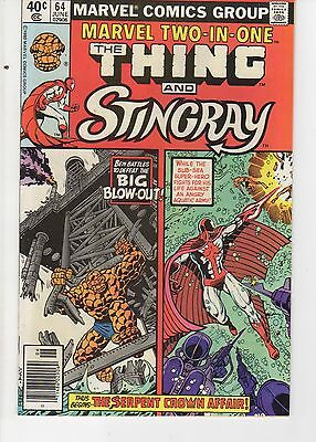 Marvel Two In One 64 (NM)