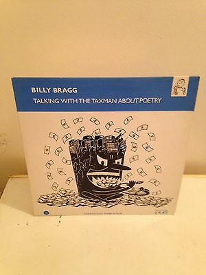 Billy Bragg LP Talking With The Taxman About Poetry
