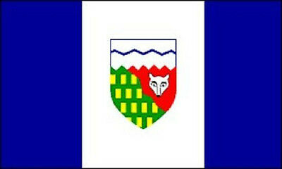 5' x 3' Northwest Territories Flag Canada Canadian North West Province  Banner