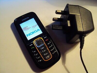 Original  Made In Romania Nokia 2600B Simple Easy To Use On Virgin+Charger