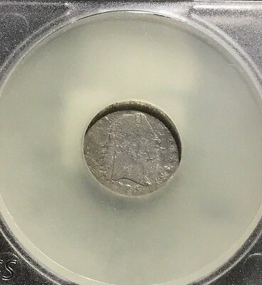 1795 Flowing Hair Half Dime - Good/scratched - Rare-Low Mintage   Inv#4187
