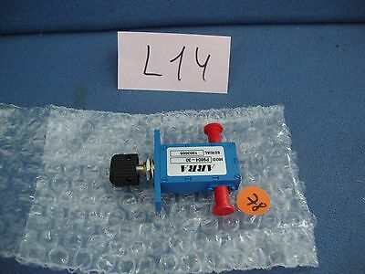 CONTINUOUSLY VARIABLE ATTENUATOR ARRA P9804-30 12-18 GHz 30dB NEW  P OPTION