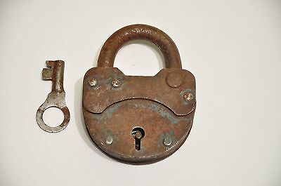 Sale! Large Rusty Metal Lock Padlock Vintage Old Lock Padlock,Rusted Metal