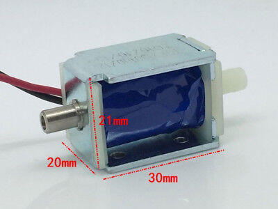 DC 12V Mini Electric DC Solenoid Valve N/O Normally Open for Gas Air Pump Valve
