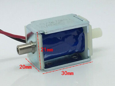 DC12V Mini Electric DC Solenoid Valve N/C Normally Closed For Gas Air Pump Valve