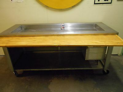 Refrigerated Salad Bar /cold Well