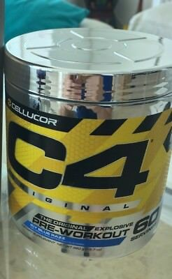 CELLUCOR C4 30 & 60 servings Preworkout Energy c4 new flavors Id series