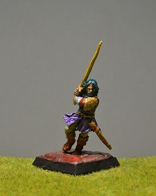 DnD role-playing games miniatures - pre-painted metal Human Fighter