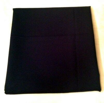 """3 Yards x 60"""" of Navy Blue Modacrylic Heavy Solid Fabric Material"""