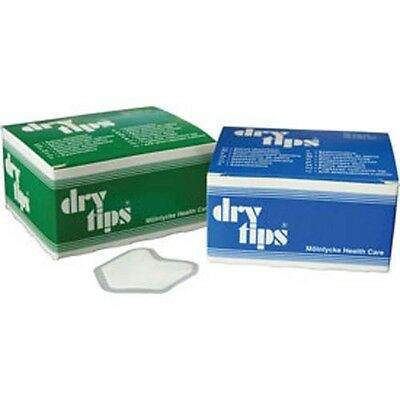 Molnlycke Dry Tips® Saliva Absorbent Tips, Large Blue