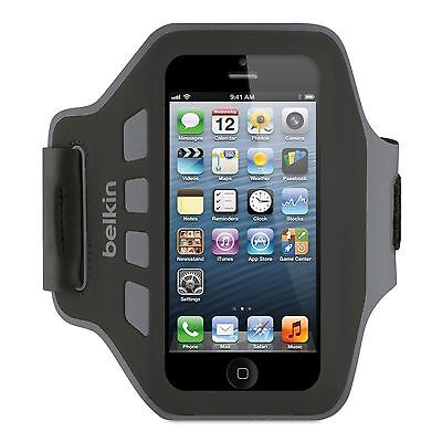 Belkin Ease-Fit Armband for iPhone 5/5S/5C/ iPod touch 5th gen - Black