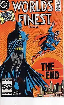 WORLD'S FINEST #323 1985 Last Issue! VF-NM