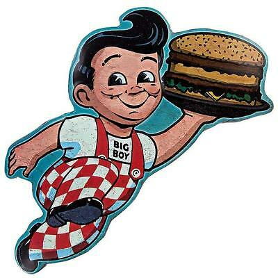 Shoney's Frisch's Big Boy Die Cut and Embossed Sign