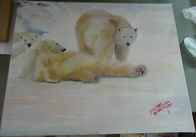acrylic painting just chilling