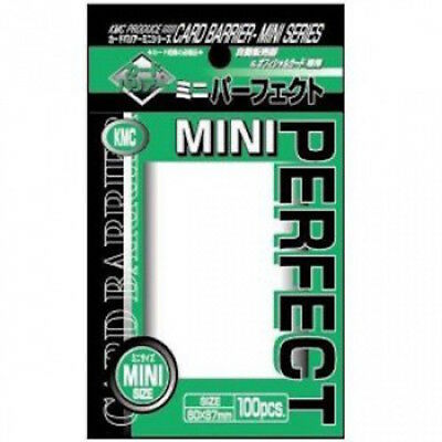 KMC Perfect Mini Size - Small Clear Card Sleeves - Yu-Gi-Oh! Cardfight!! (100)