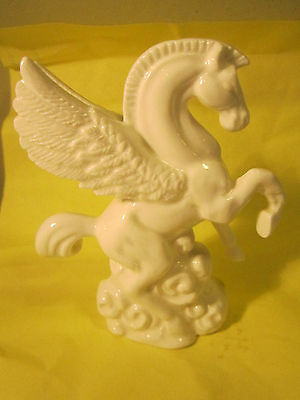 Schmid Bone China All White  Pegasus 3.5x3""