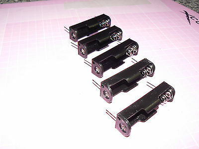 (Pack of 10) AA Battery Holder PCB Mount