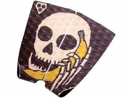 Gorilla Grip Phat Two Hello Surfboard Deck Traction Tail Pad Skull