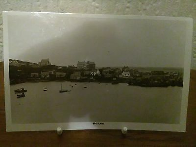 "Real Photo Postcard ""mallaig"" Inverness Scotland (Used) 1934"