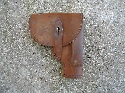 ORIGINAL French leather holster pistol Ruby Mab ww1 variant